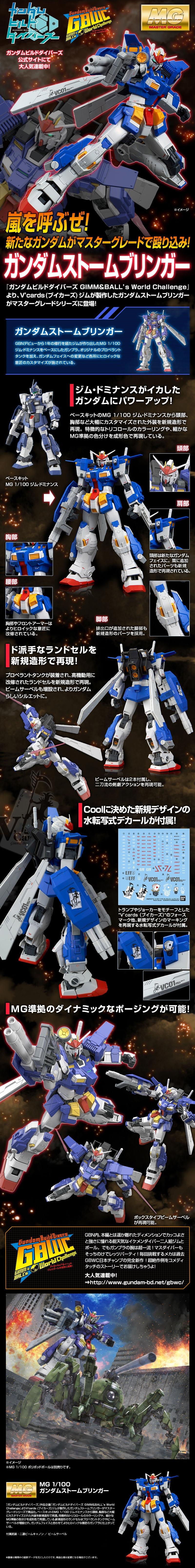 MG Gundam Stormbringer Details