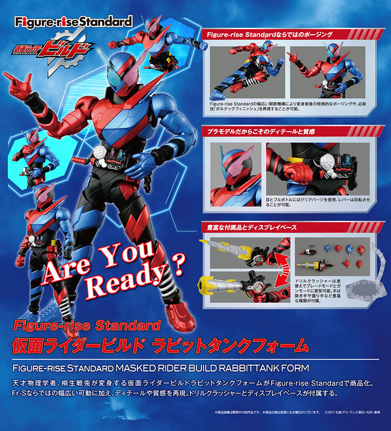Figure-rise Standard Kamen Rider Build Description