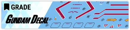 Gundam Water Slide Decal